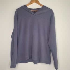 Patagonia Lavender Lightweight Pull Over Hoodie